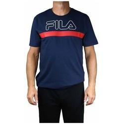 textil Hombre Camisetas manga corta Fila Men Laurentin Tee Rojos, Azul marino