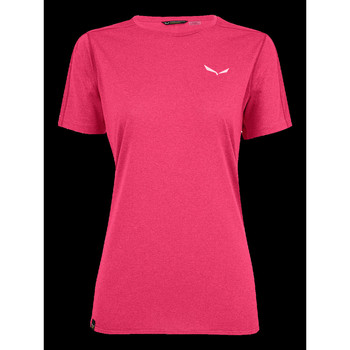 textil Mujer Camisetas manga corta Salewa Pedroc 3 DRY W S/S TEE 27726-6385 rosado