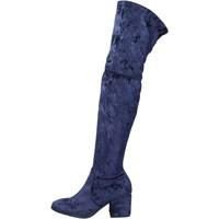 Zapatos Mujer Botas Accademia BK400 azul