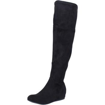 Zapatos Mujer Botas Francescomilano BK404 negro