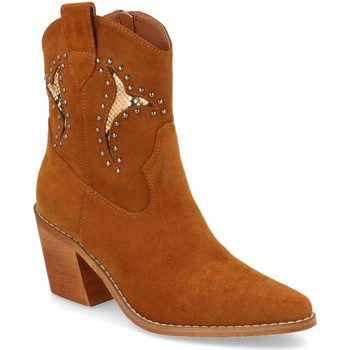 Zapatos Mujer Botines Prisska TY1063 Camel