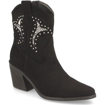 Zapatos Mujer Botines Prisska TY1063 Negro