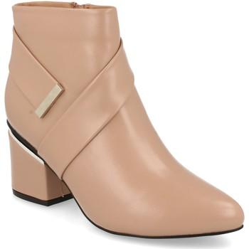 Zapatos Mujer Botines Prisska Y5675 Nude