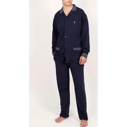 textil Hombre Pijama Admas For Men Homewear pijama pantalón camisa Mazarine Admas Azul Marine