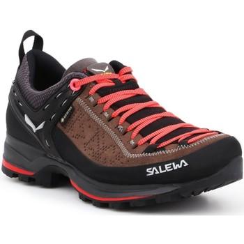 Zapatos Mujer Senderismo Salewa WS MTN Trainer 2 GTX 61358-0480 negro, marrón
