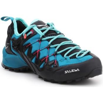 Zapatos Mujer Senderismo Salewa WS Wildfire Edge 61347-8736 negro, azul
