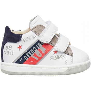 Zapatos Niño Deportivas Moda Falcotto - Polacchino bianco GRUNDY VL-1N31 BIANCO