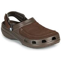 Zapatos Hombre Zuecos (Clogs) Crocs YUKON VISTA II CLOG M Marrón