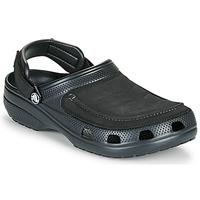 Zapatos Hombre Zuecos (Clogs) Crocs YUKON VISTA II CLOG M Negro