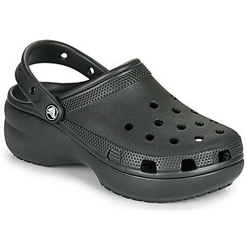 Zapatos Mujer Zuecos (Clogs) Crocs CLASSIC PLATFORM CLOG W Negro