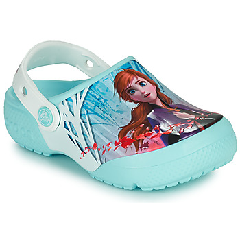 Zapatos Niña Zuecos (Clogs) Crocs CROCSFL OL DISNEY Azul