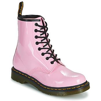 Zapatos Mujer Botas de caña baja Dr Martens 1460 W Rosa