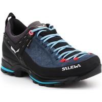 Zapatos Mujer Senderismo Salewa WS MTN Trainer 2 GTX 61358-8679 negro, azul marino