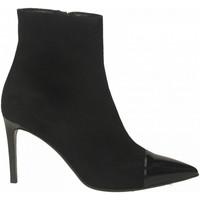 Zapatos Mujer Botines Guglielmo Rotta CAMOSCIO/VERNICE nero