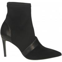 Zapatos Mujer Botines Guglielmo Rotta CAMOSCIO/NAPPA nero