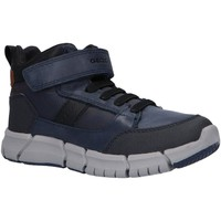 Zapatos Niño Botas de caña baja Geox J049BB 0BUCL J FLEXYPER Azul