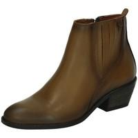 Zapatos Mujer Botas de caña baja 48 Horas Botines de piel CUERO