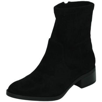 Zapatos Mujer Botas de caña baja Xti BotÍn antelina Negro