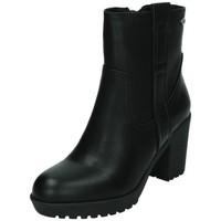 Zapatos Mujer Botas de caña baja Xti BotÍn cinta polipiel Negro