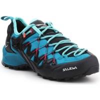 Zapatos Mujer Running / trail Salewa WS Wildfire Edge Azul, Grafito