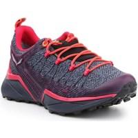 Zapatos Mujer Running / trail Salewa WS Dropline Gtx Grises, De color naranja, Violeta