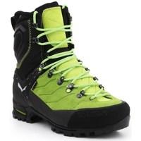 Zapatos Hombre Botas de caña baja Salewa MS Vultur Evo Gtx Negros, Verde claro