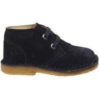 Zapatos Niño Botas de caña baja Naturino - Polacchino blu MILKY-0C01 BLU