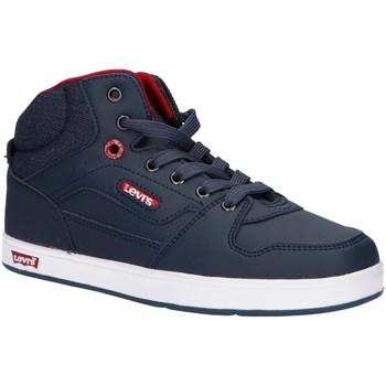 Zapatos Niño Zapatillas altas Levi's VGRA0093S DAYTON LACE Azul