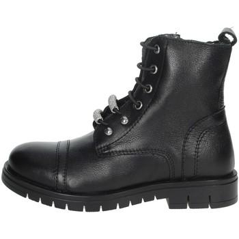 Zapatos Niña Botas de caña baja Grunland PO1504 Negro