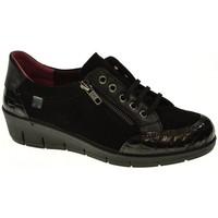 Zapatos Mujer Derbie Laura Azaña ZAPATO CUÑA  NEGRO Negro