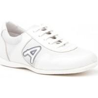 Zapatos Niña Multideporte Angelitos Deportivos colegiales de piel by Blanc