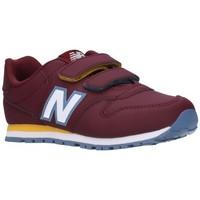 Zapatos Niño Zapatillas bajas New Balance IV500RBB/YV500RBB Niño Burdeos rouge