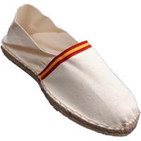 Zapatos Alpargatas Made In Spain 1940 Alpargatas de esparto bandera de España beige