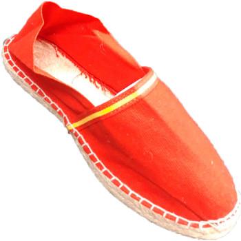 Zapatos Alpargatas Made In Spain 1940 Alpargatas de esparto bandera de España rojo