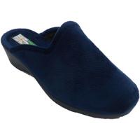 Zapatos Mujer Pantuflas Made In Spain 1940 Zapatillas mujer abiertas por detrás est azul