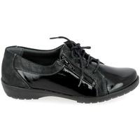 Zapatos Hombre Derbie Boissy 80069 Noir Negro