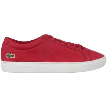 Zapatos Hombre Zapatillas bajas Lacoste L 12 Rojos