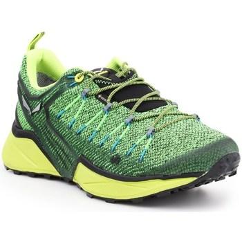 Zapatos Hombre Zapatillas bajas Salewa MS Dropline Gtx Verdes, Verde claro