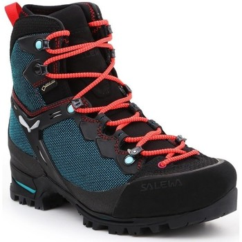 Zapatos Mujer Senderismo Salewa WS Raven 3 Gtx Negros, Verdes