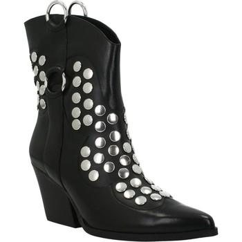 Zapatos Mujer Botines Apepazza STUDS TORY Negro