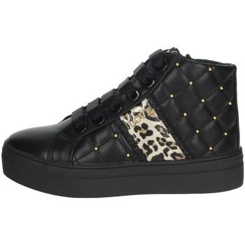 Zapatos Niña Zapatillas altas Asso AG-8603 Negro