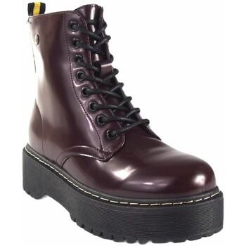 Zapatos Mujer Botas de caña baja Isteria Botín señora   20290 burdeos Rojo