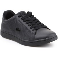 Zapatos Mujer Zapatillas bajas Lacoste Carnaby Evo Negros