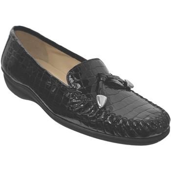 Zapatos Mujer Mocasín Marco MAXOU Cuero negro