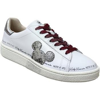 Zapatos Mujer Zapatillas bajas Disney Md457 Blanco, Blanca