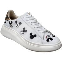 Zapatos Mujer Zapatillas bajas Disney Md477 Blanco, Blanca