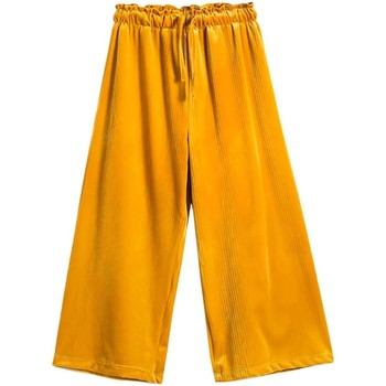 textil Niña Pantalones fluidos Mayoral Falda pantalon terciopelo Verde