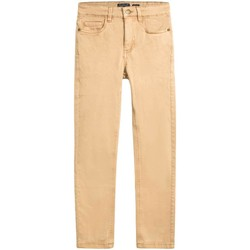 textil Niño Pantalones Mayoral Pantalon 5b slim fit basico Beige