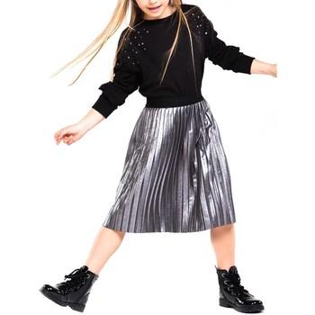 textil Niña Shorts / Bermudas Mayoral Falda antelina blotch plisada Gris