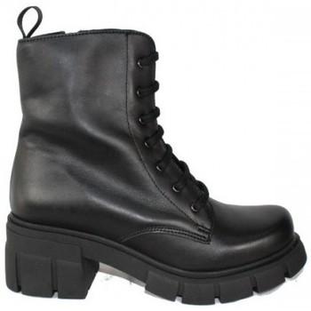 Zapatos Mujer Botas de caña baja True Heart BOTA 7 OJETES CON PISO TRACK DE TRUE HEARTH Negro